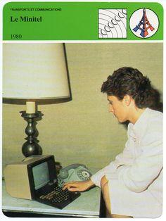 Minitel cover magazine via jmailland Emoticon, Letterpress, Geek Stuff, Typography, Magazine, Retro, Cover, Robot, Tech