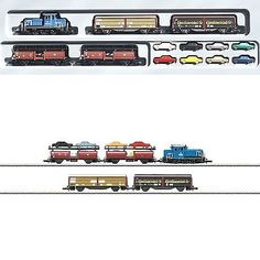 Other Z Scale 7276: 81409 Marklin Z-Scale Mercedes Auto Transport Train Set, 5 Pole Diesel Switcher -> BUY IT NOW ONLY: $241.2 on eBay!