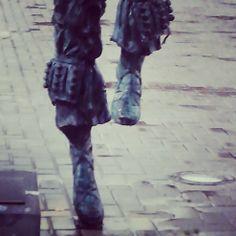 Dantzari bajo la lluvia #Galdakao #GaldakaON #ContenTTur 2014