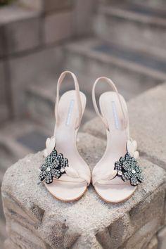 Jewel encrusted wedding shoes by Vera Wang Shoe Boots, Shoes Sandals, Shoe Bag, Dress Shoes, Bridal Shoes, Wedding Shoes, Wedding Stuff, Wedding Ideas, Cute Shoes