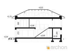 Projekt domu Willa Miranda 4 (G2) - ARCHON+ Floor Plans, Home Decor, Home, Building Ideas, Build House, Decoration Home, Room Decor, Home Interior Design, Floor Plan Drawing