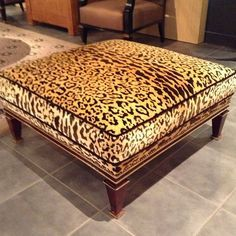 There is no such thing as too much leopard! Paris interiors