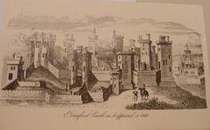 Pontefract Castle as it appeared in 1380