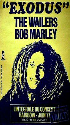 Bob Marley Concert, Robert Nesta, Nesta Marley, Jamaican Music, The Wailers, Concert Posters, Social Issues, Reggae, Rebel