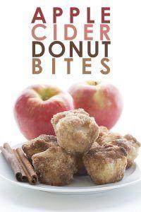 Low Carb Apple Cider Donut Bites. Grain-free Sugar-Free recipe