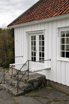 Like the french doors French Doors, The Good Place, Entrance, Garage Doors, Exterior, Cabin, Nice, Places, Outdoor Decor
