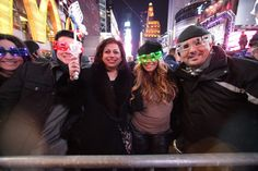 UP n SOCIAL NYC Times Square Revelers!