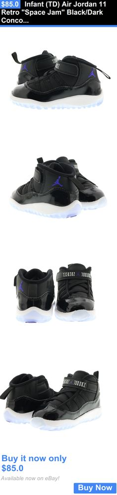 Infant Shoes: Infant (Td) Air Jordan 11 Retro Space Jam Black/Dark Concord-White 378040-003 BUY IT NOW ONLY: $85.0