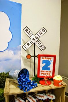 Thomas The Tank Engine Party - Little Wish Parties