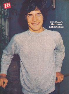 "Matthew Laborteaux -- Albert  ""Little House On The Prairie""."