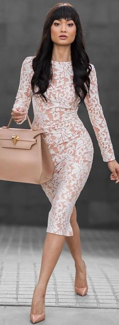Soft And Feminine Little Dress Fall Inspo by Micah Gianneli