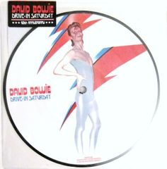 David Bowie Drive In Saturday picture disc