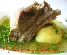 Caldo de Costilla - my Colombian cocina Yummy, I love to eat this at breakfast!