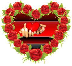 Floral Wreath, Happy Birthday, Wreaths, Frame, Heart Gif, Decor, Album, Happy Brithday, Picture Frame