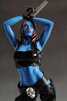 Marvel Mystique | Mystique Marvel Premium Format statue by Sideshow Collectibles