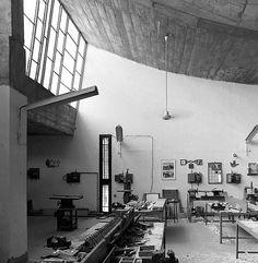 Le Corbusier - Escuela de Arte y Arquitectura de Chandigarh - India - 1950-65  photo Cemal Emden