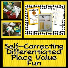 During math centers we used some great activities from A Differentiated  Kindergarten  Pinterest     The world s catalogue of ideas