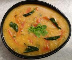 Tomato Mysore pappu, masoori dal, lentils