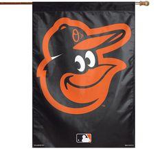 """Baltimore Orioles WinCraft 28"""" x 40"""" Bird House Flag"""