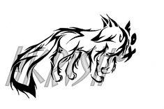 Fox Tattoo II by ~HitoshiHalfbreed on deviantART