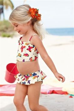 Buy Butterfly Bikini (3mths–6yrs) from the Next UK online shop i can see layla right now either a flower in her hair looking like a Lil beauty on the beach