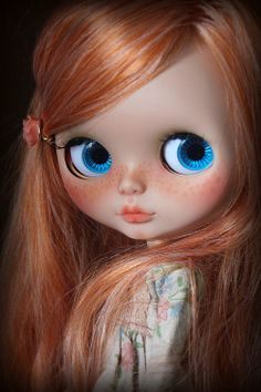 blytheforme: Honey-Rose. A ooak custom Blythe doll by Rita Greenwood (gelfling9) No.26