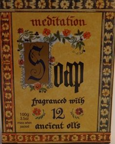 $7.00 meditation soap.Hippy Clothing   Bongs Australia