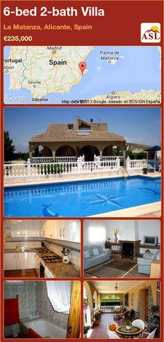 6-bed 2-bath Villa in La Matanza, Alicante, Spain ►€235,000 #PropertyForSaleInSpain