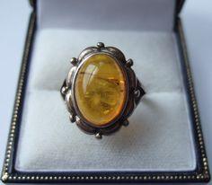 Vintage Swedish Skonvirke ring 925 silver and by Inglenookery