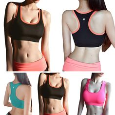 c88ddadac6 Women sports Bra GYM Fitness Running Exercise Quick Dry Breathable Shaper  Body Underwear Yoga Intimates Push Up Bralette