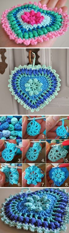 There are a lot of ways to crochet heart and a lot of various tutorials to learn from. Today we are sharing with you a specific tutorial for this beautiful heart ornament you can see on the featured image. You can crochet it in multiple colors and also can crochet with one solid yarn. We… Read More Crochet Heart