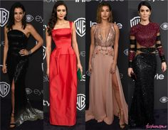24 looks das after parties do Golden Globe 2017 - Fashionismo