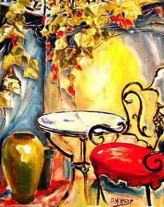 painting bistro - Recherche Google