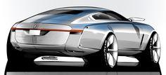 Grigory Butin - Car design sketches #6 on Behance