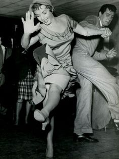 Vintage Swing Dance Photo - how cute is she?