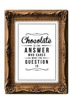 Retro Inspirational Quote Giclee Art Print - Vintage Typography Decor - Customize - Chocolate Answer UK. £15.00, via Etsy.