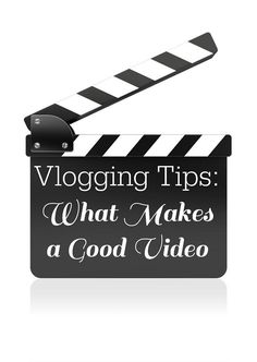 Vlogging Tips - What Makes a Good Video -Tips I've learned from some of the best conferences.    ~WendysHat