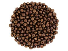 Czech Glass Appx 12.5oz Brown Faceted Rondelle Beads