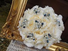 the pearls tie in the silver I would have on my bridesmaid dresses