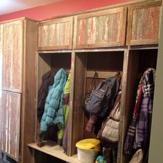 mud room diy pallets - Google Search