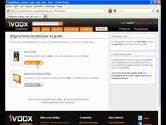 Tutorial como subir archivos a IVOOX