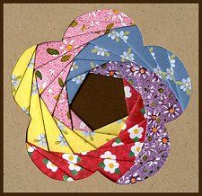 Iris Folding @ CircleOfCrafters.com: Make an Iris Folded Flower