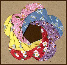Iris Folding @ CircleOfCrafters.com: Make an Iris Folded Flower