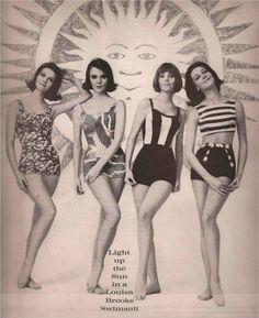 Louisa Brooks Swimsuits Advertisement 1963