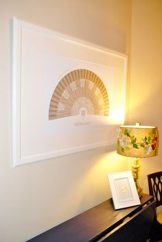 Beautiful genealogy chart - in an Ikea Ribba Frame (20x28)