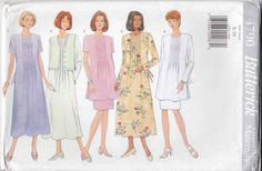 Butterick Sewing Pattern 4790 B4790 Misses Size 8-10 Easy Classic Maternity Dress Top Skirt Vest    Butterick+Sewing+Pattern+4790+B4790+Misses+Size+8-10+Easy+Classic+Maternity+Dress+Top+Skirt+Vest