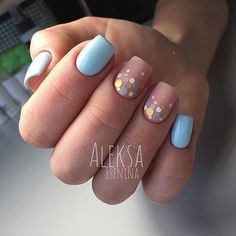 Beautiful nails Beige blue nails, Bright summer nails, Glitter nails, Marine nails, Nails ideas Summer nails Two-color summer nails Acrylic Nail Designs, Nail Art Designs, Acrylic Nails, Nails Design, Confetti Nails, Beige Nails, Glitter Manicure, Nail Manicure, Trendy Nail Art