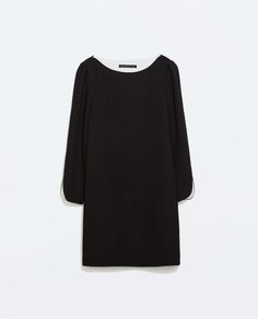 ZARA - NEW THIS WEEK - DRESS WITH ARM SLITS