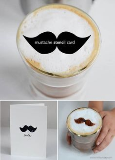 Father's Day Cards | Make a Mustache Card for Dad