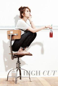 ElArmarioDeLosDoramas: Yoon Eun Hye para HIGH CUT KOREA